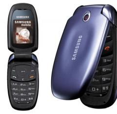 Telefono celular Samsung C506