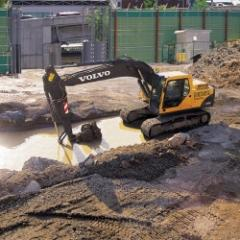 Excavadora  EC160B