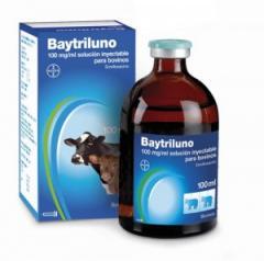 Antibiótico para animales Baytriluno