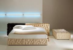 Juego de dormitorio creado con poliuretano