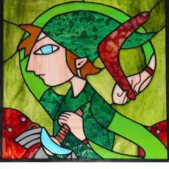 Pinta para vitrales