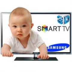 Samsung - Smart TV LED 3D de 60