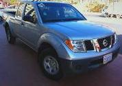 Vehículo camioneta NISSAN Frontier 2007, GRIS