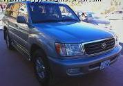 Vehículo vagoneta TOYOTA LAND CRUIS 2001, BEIGE