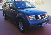 Vehículo vagoneta NISSAN Pathfinder 2005, AZUL