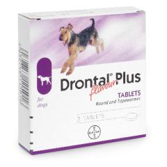 DRONTAL PLUS SABOR 1 COMPRIMIDO