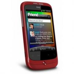 HTC Wildfire - Rojo
