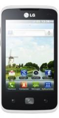 LG Optimus Hub Blanco