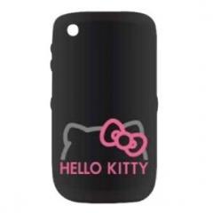Hello Kitty Carcasa Blackberry 8520/9300 Negro