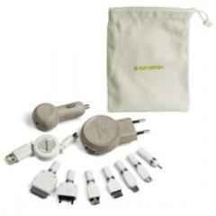 Muvit Pack cargador 3 en 1 universal (7 conectores)