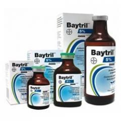 BAYTRIL 2,5% SOLUCIÓN INYECTABLE 50 ml