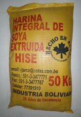 Harina Integral de Soya Extruida