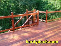 Tarima/ decking de tigerwood