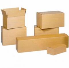 Cajas de cartón y cartón fino