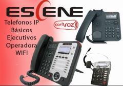 Telefonos IP ESCENE