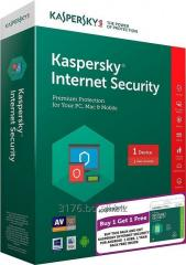 Kaspersky Internet Security 2018 3PC 1año