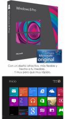 Microsoft Windows 8.1 Pro Licencia Genuina 1PC