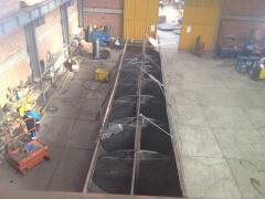 Tanque atmosférico de acero al carbón