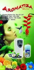 Aromatizadores Digitales de Ambientes