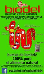 Vendo Humus de Lombriz, Lixiviado de Humus de Lombriz, Lombrices y lonbricarios