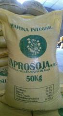 Harina integral de soya