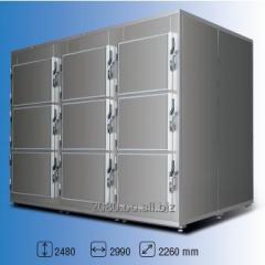 Cámara frigorífica 9 cuerpos 0°C SLDCEACA33