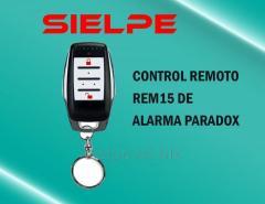 CONTROL REMOTO REM15 DEL PANEL DE ALARMA DE ROBO PARADOX