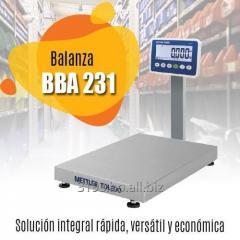 Balanza BBA 231