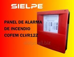 Panel De Alarma De Incendio Cofem CLVR12Z