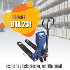 Balanza Tipo Pallet BTA231