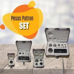 SET DE PESAS PATRÓN