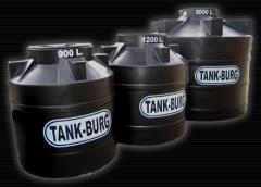 Tanques de agua :Mediana capacidad 900, 1200 y