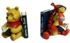 Sujeta libros Winnie pooh y Tigger