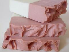 Jabón de arcilla rosa