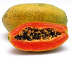 Papaya deshidratada