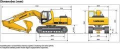 CLG 220LC Excavadora