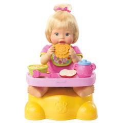 Muñeca Bebecita Comiditas Mattel