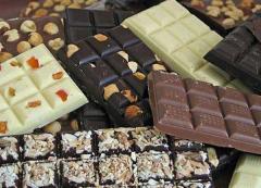 Chocolate en formas