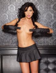 Vinyl Naughty Girl Skirt