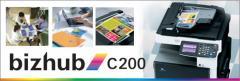 Copiadora Bizhub C200