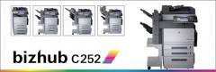 Copiadora Bizhub C252