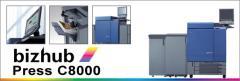 Copiadora Bizhub Press C8000