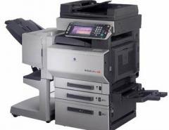 Fotocopiadoras Bizhub Color C350