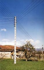 Postes de Concreto para Líneas Eléctricas y