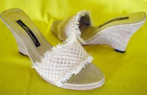 Sandalias textil