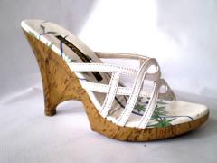 Zapatos de plataforma blanco