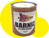 Barniz filtro solar brillante/mate