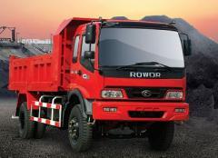 Camiones de carga de volteo
