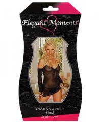Fishnet Mini Dress w/Gloves & G-String o/s - 7797