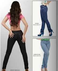 Jeans clasico dama
